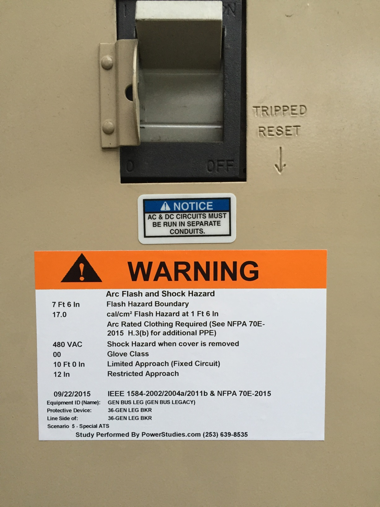 What Does A Quality Arc Flash Study Include Part Two