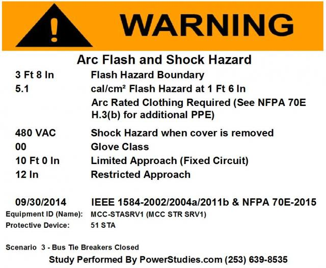 updated for 2015 are your arc flash labels compliant With arc flash labels nfpa 70e 2015